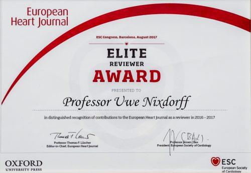 Elite Reviewer Award 2017