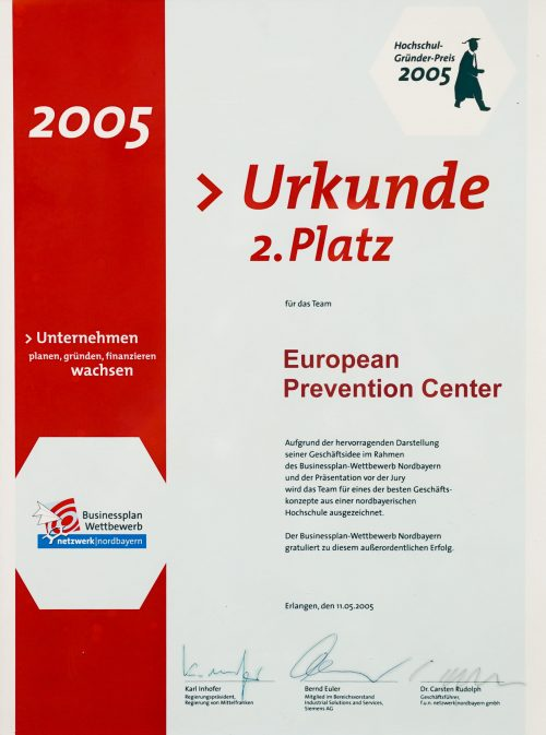 Hochschulgründerpreis 2005
