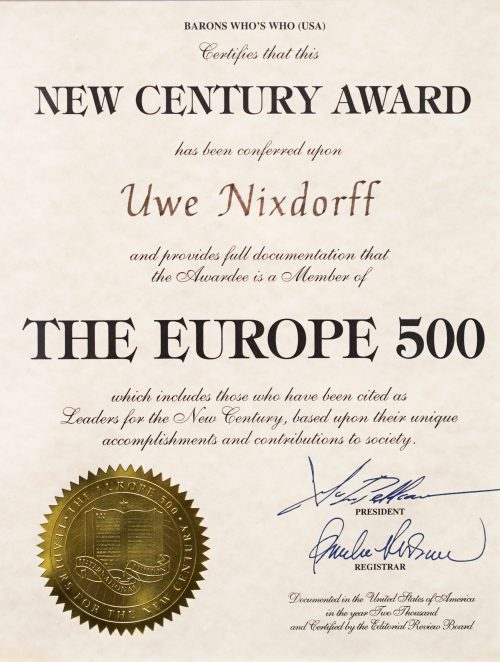 The Europe 500